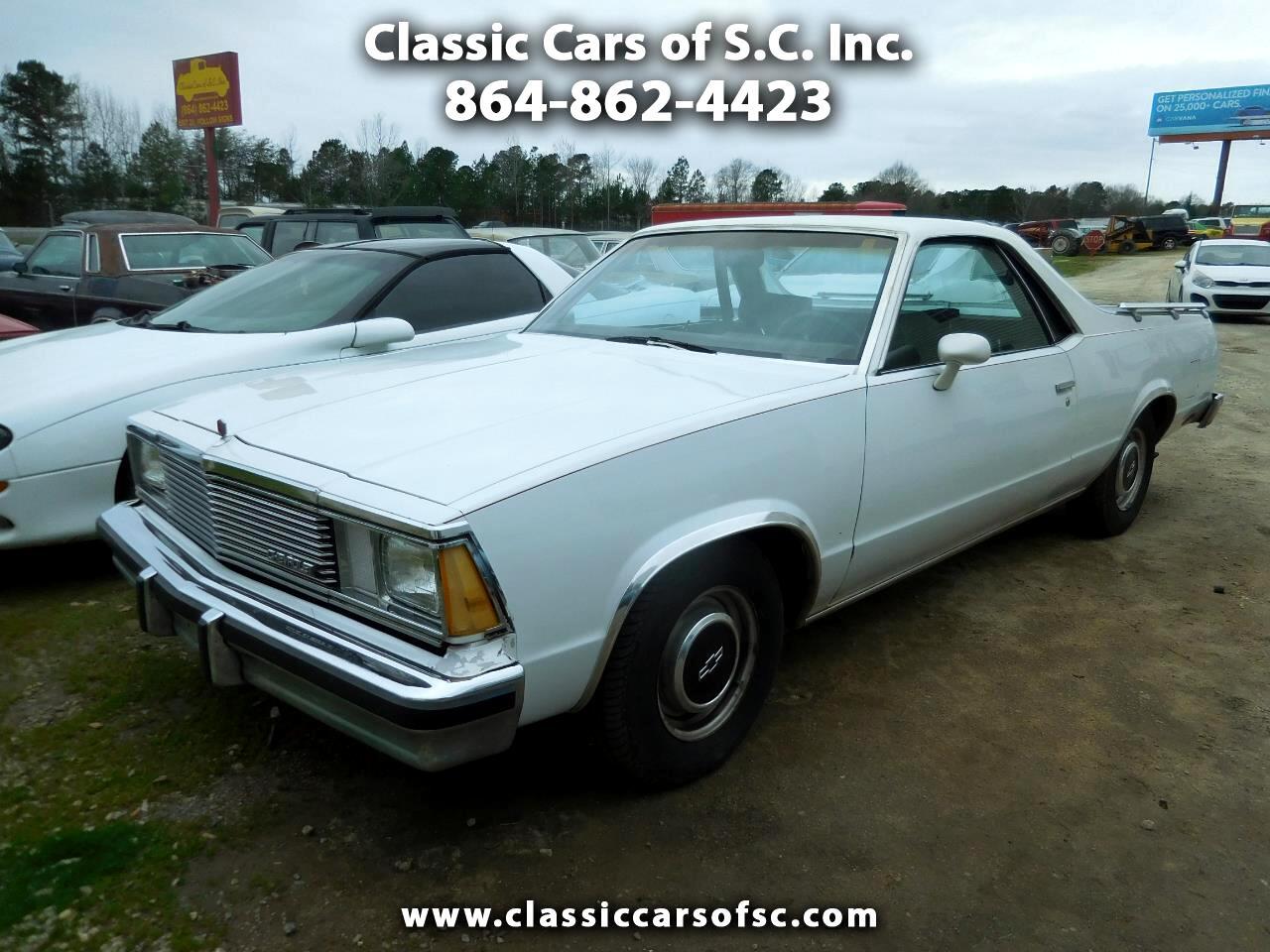 Chevrolet El Camino 2dr Pickup 1981