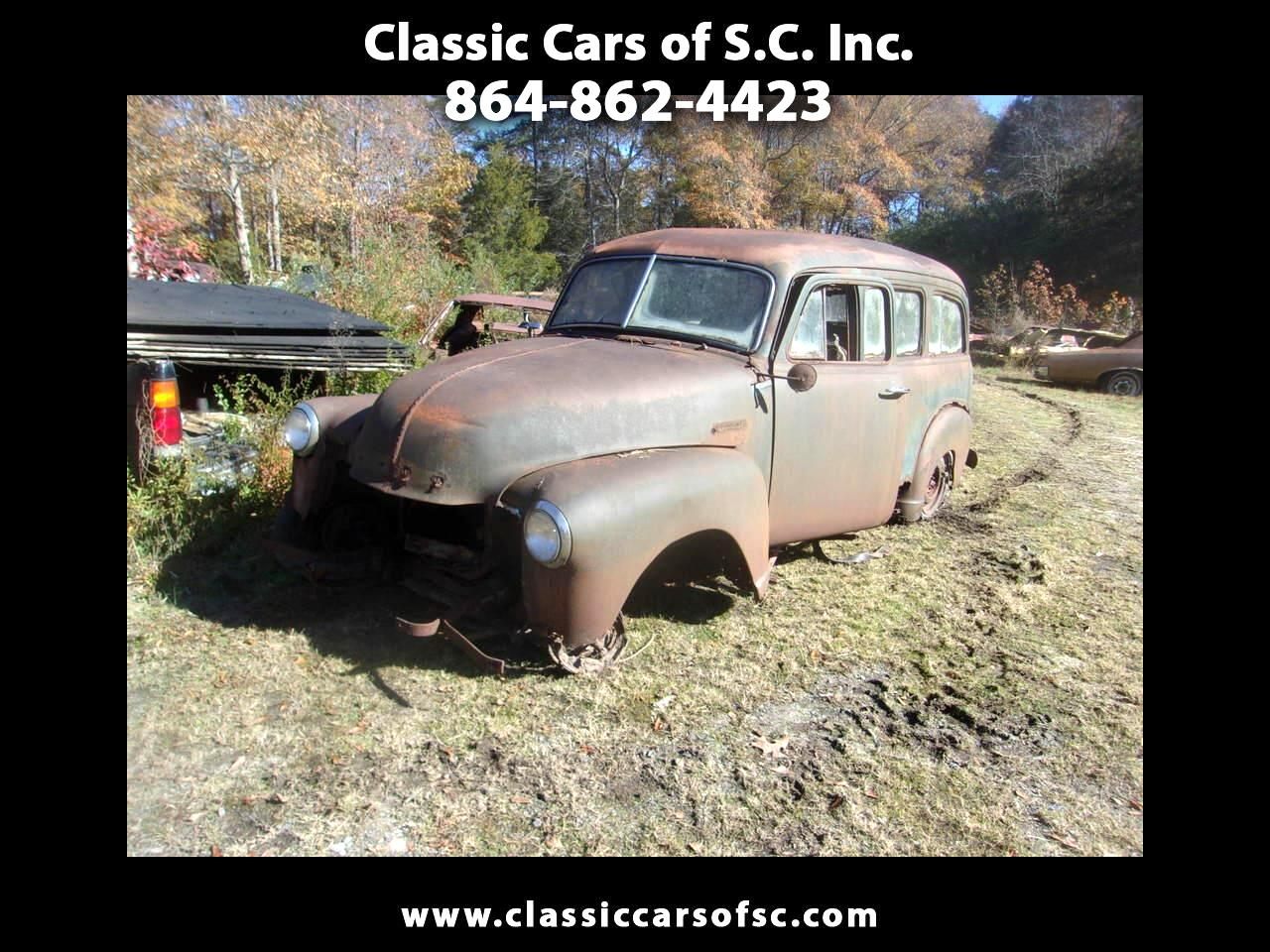 Chevrolet Suburban  1950