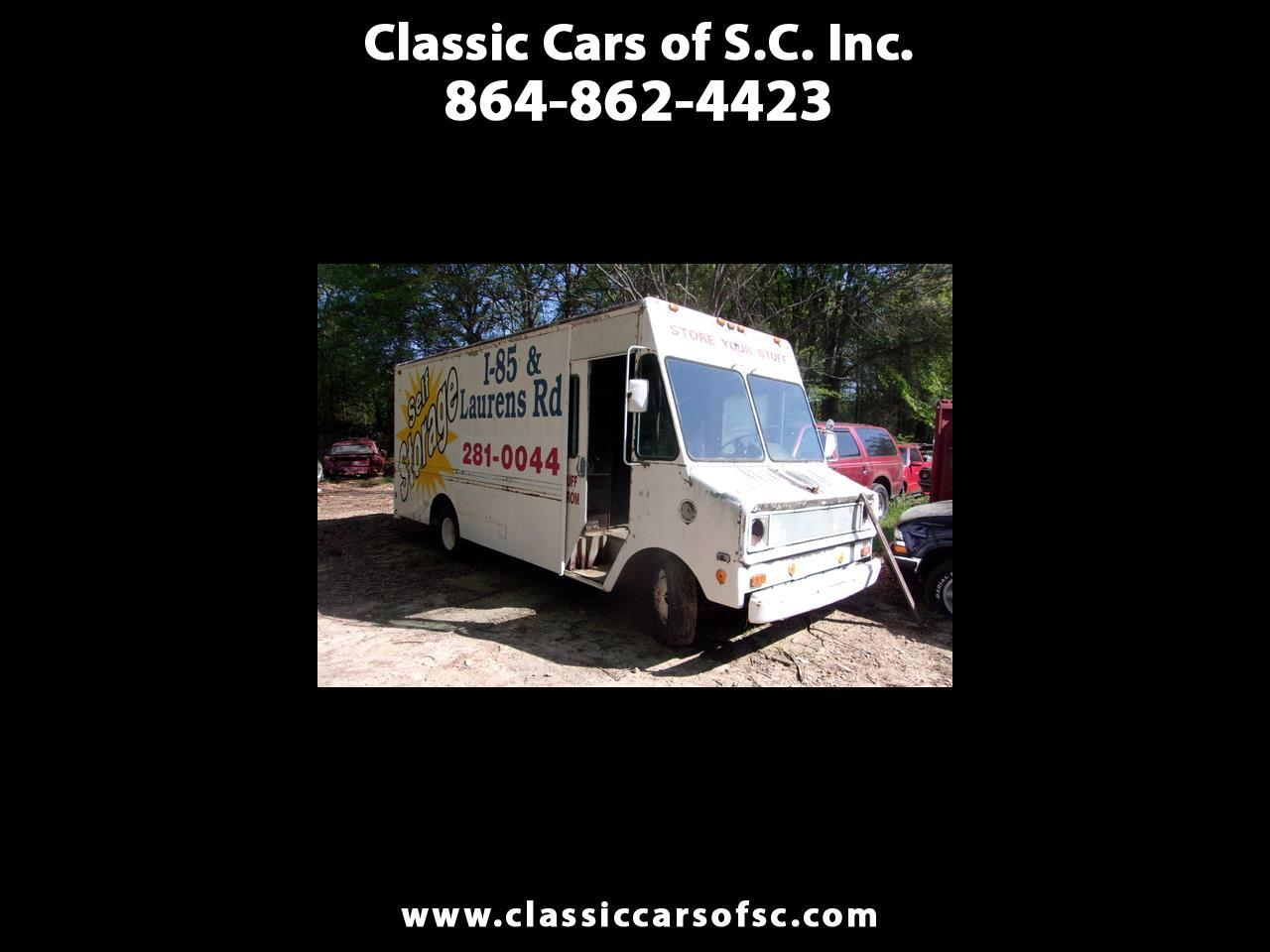Chevrolet Trucks G Commercial Cutaway  1977