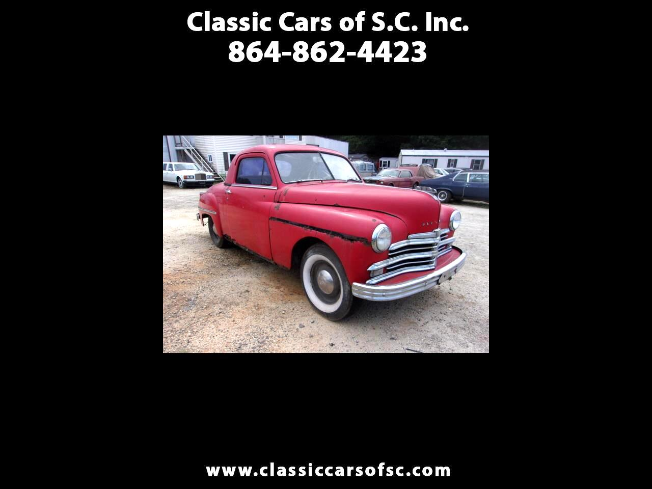 Plymouth Coupe  1949