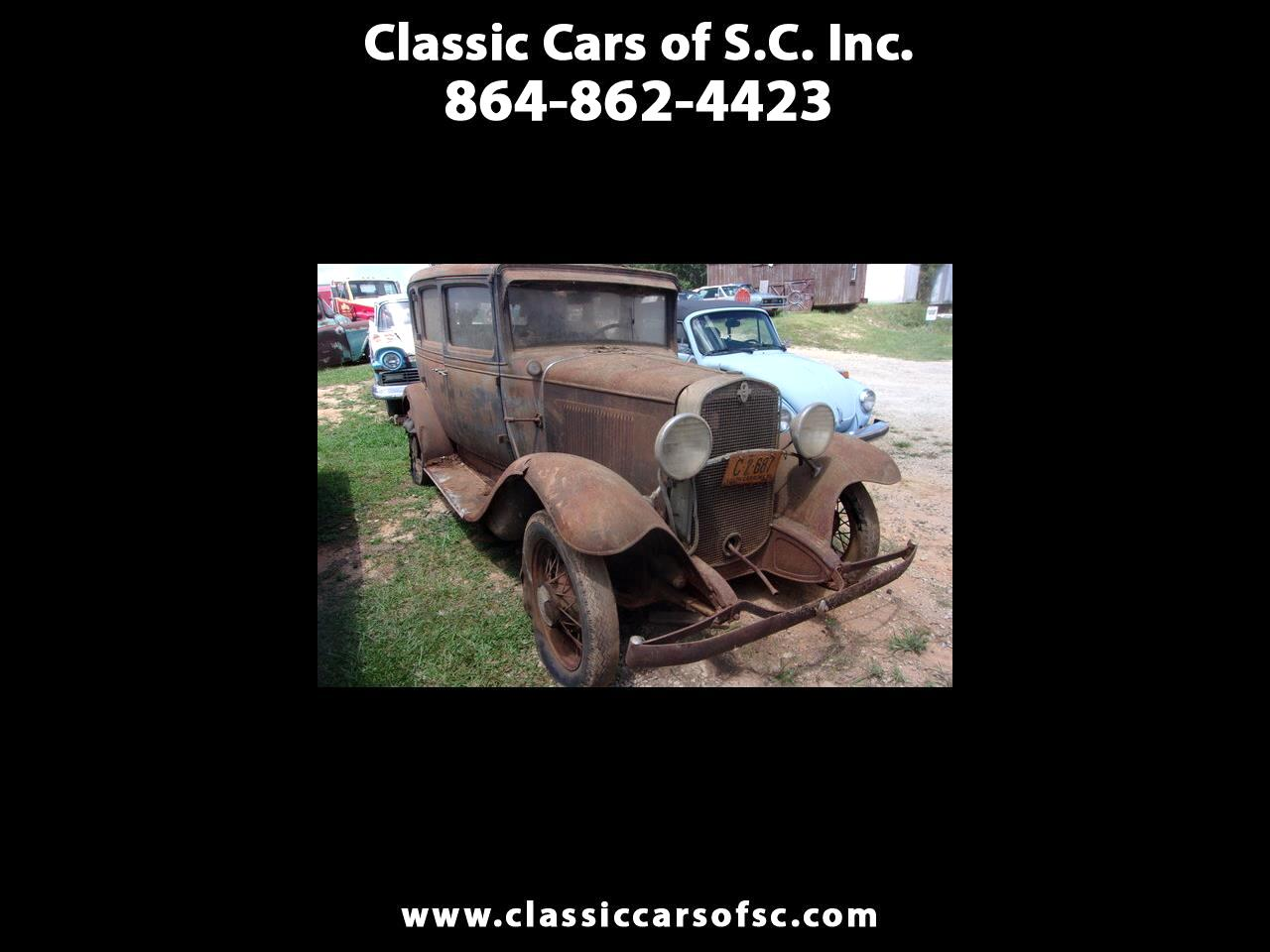 Chevrolet Classic 4dr Sdn 1931