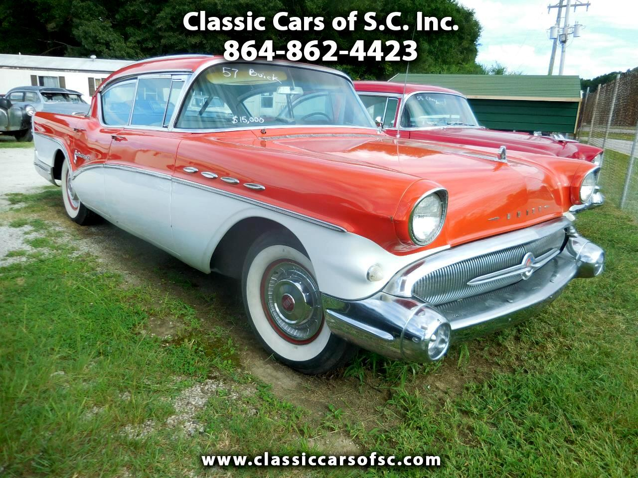 Buick Roadmaster 4dr Sedan 1957