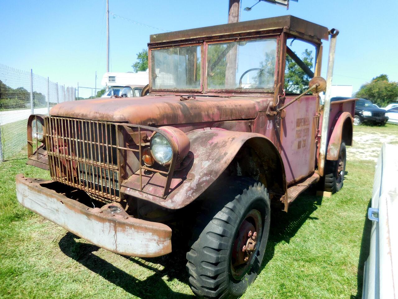 Dodge 3/4 Ton Trucks  1953