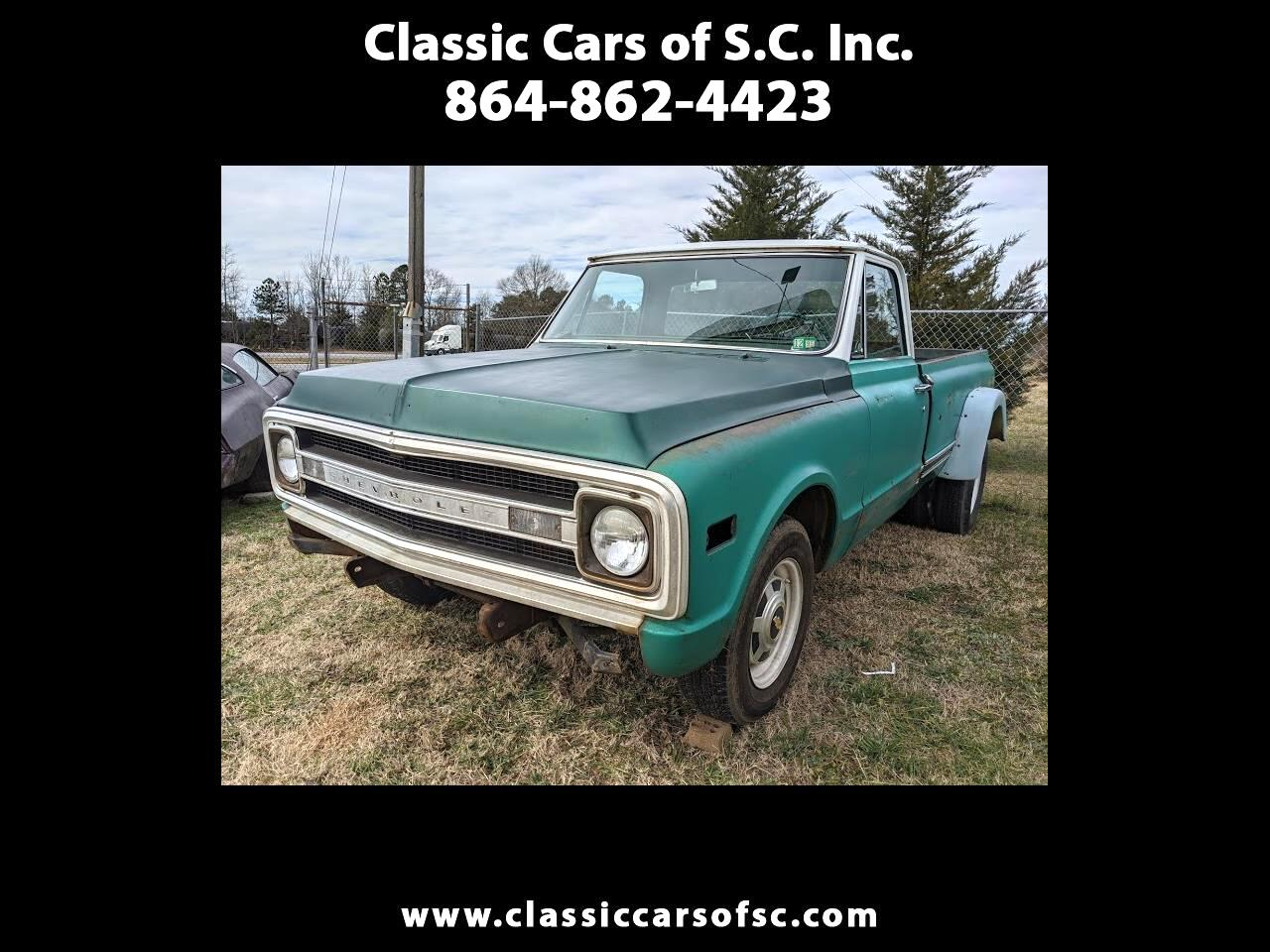 Chevrolet C/K 20 Series Regular Cab 2WD 1970