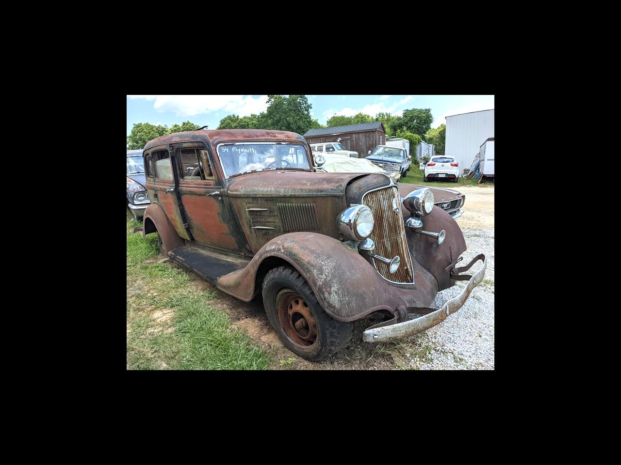 Plymouth P4 Business  1934