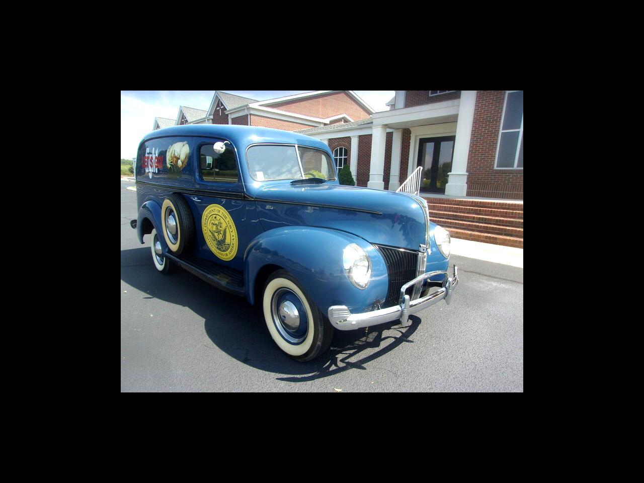 Ford Panel Wagon  1940