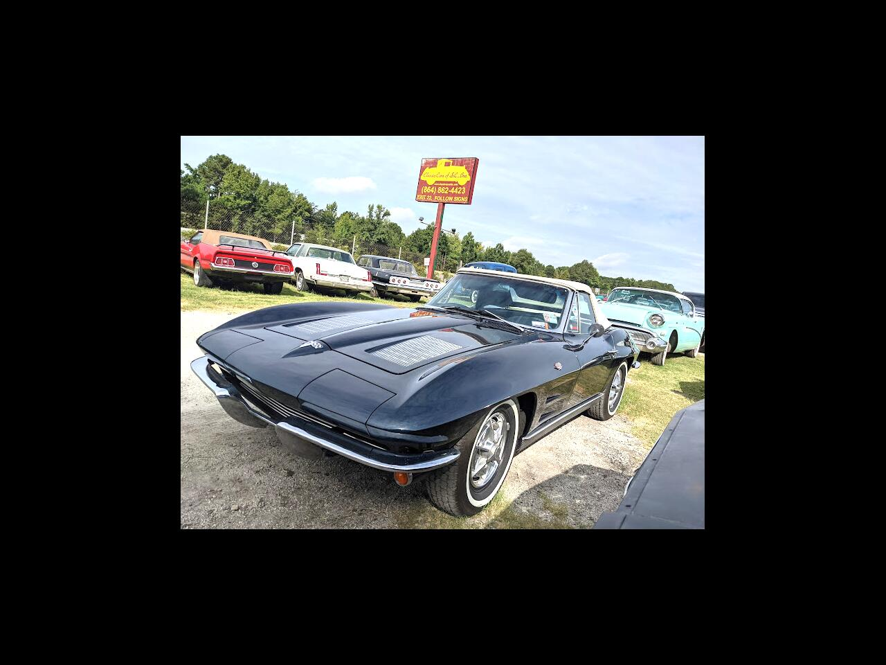 Chevrolet Corvette Stingray Convertible  1963