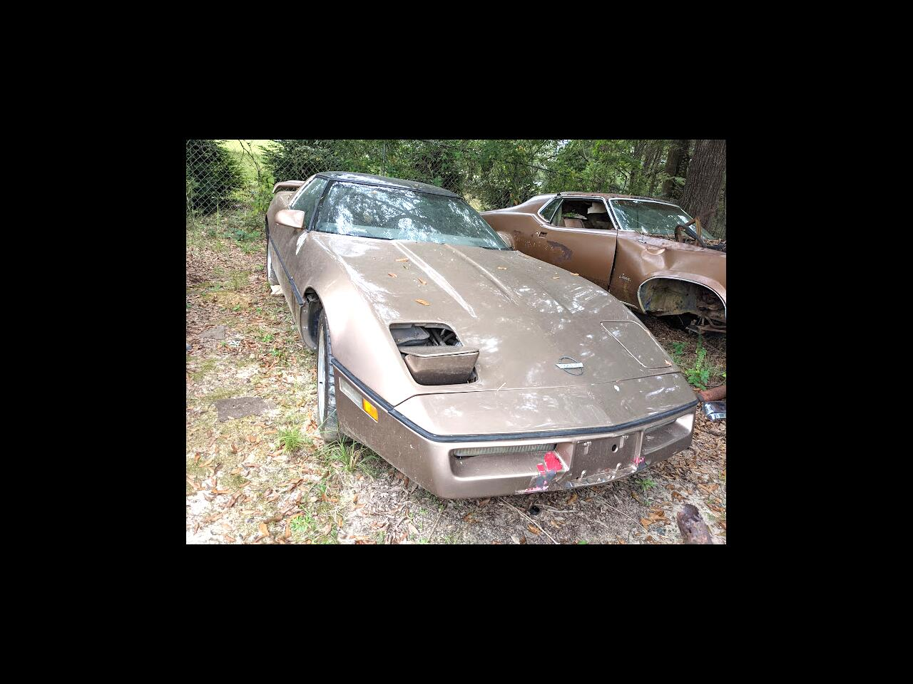 Chevrolet Corvette 2dr Hatchback Coupe 1985