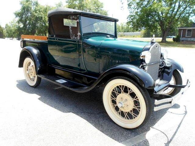 1929 Ford Model A Roadster Convertible Pickup Truck