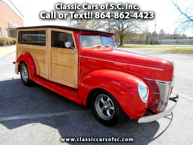 Ford Woodie  1940