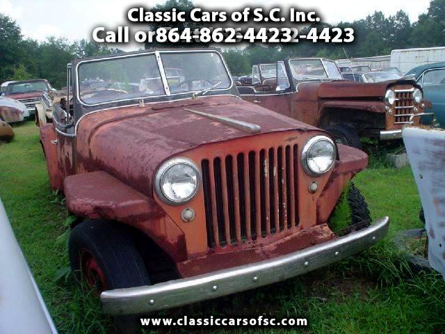 1949 Willys Jeep Jeepster Phaeton