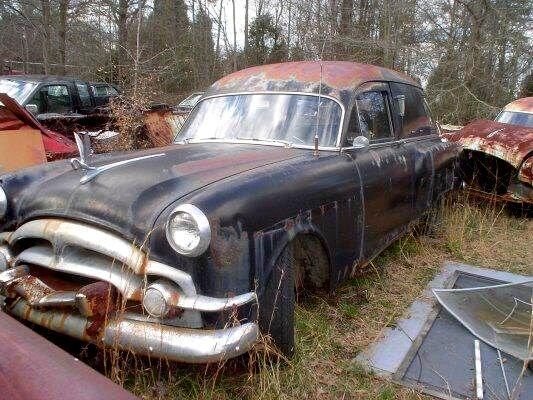 1953 Packard Deluxe 8 Flower Car Hearse