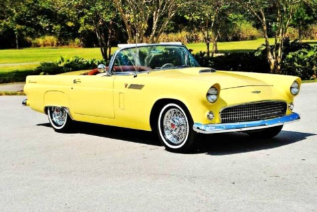 1956 Ford Thunderbird Conertible