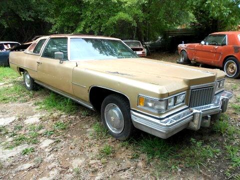 1975 Cadillac DeVille Delegance 2 door hardtop