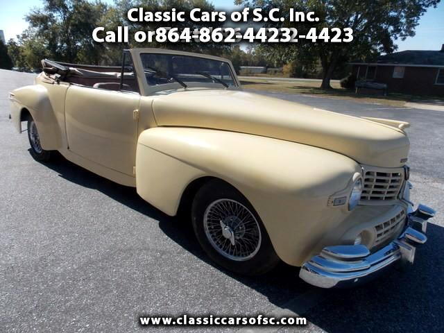 1948 Lincoln Continental Luxury Appearance