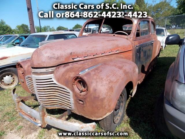 1941 Chevrolet Sedan 2-Door