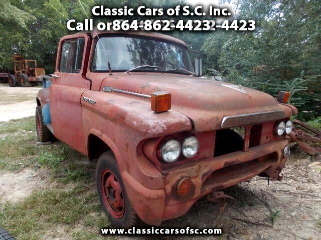 1958 Dodge Pickup 1 Ton