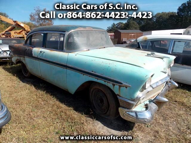 1956 Chevrolet Bel Air 4 door