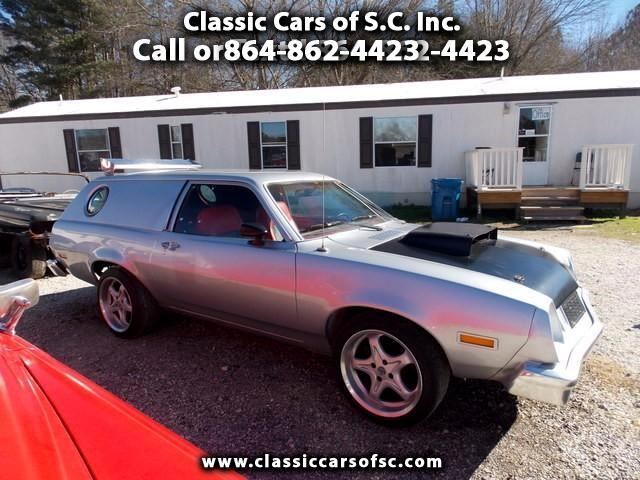 1978 Ford Pinto Sedan Delivery with port hole windows