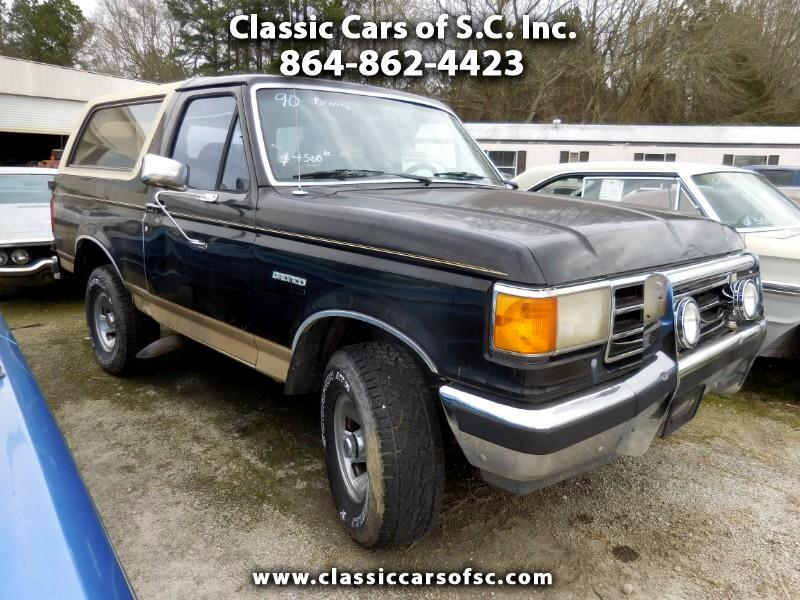 1990 Ford Bronco 2dr Eddie Bauer