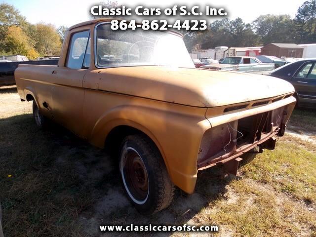 1963 Ford F-100 Unibody truck, very rare