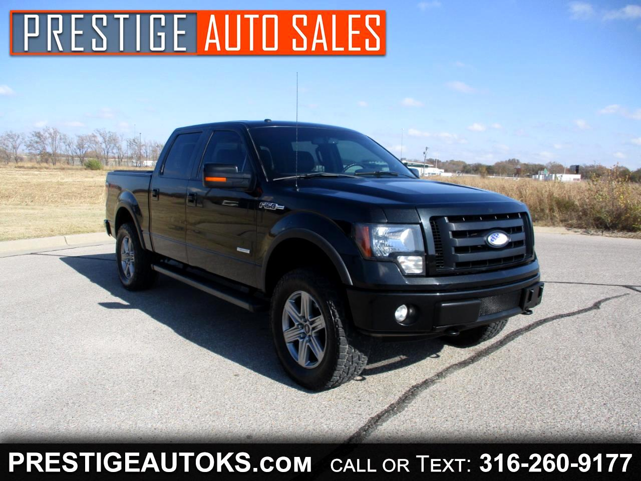 Ford F-150 FX4 SuperCrew 5.5-ft. Bed 4WD 2012