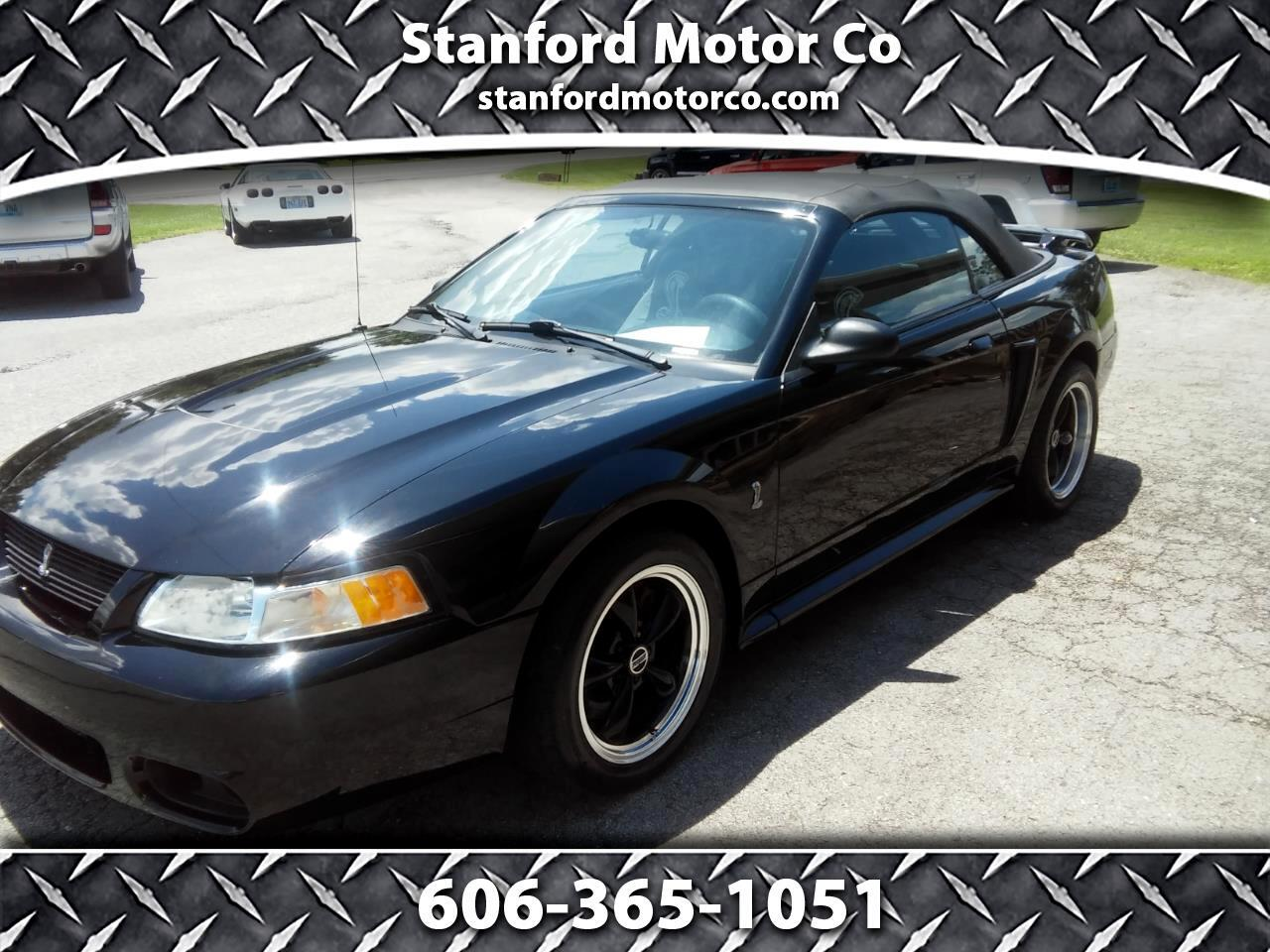 2001 Ford Mustang Cobra Convertible
