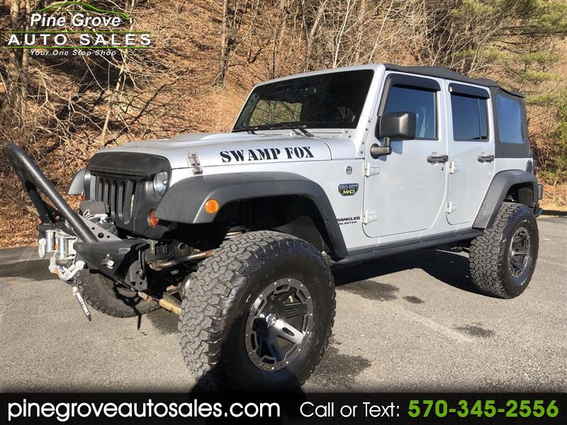 2012 Jeep Wrangler Unlimited Unlimited Rubicon 4WD