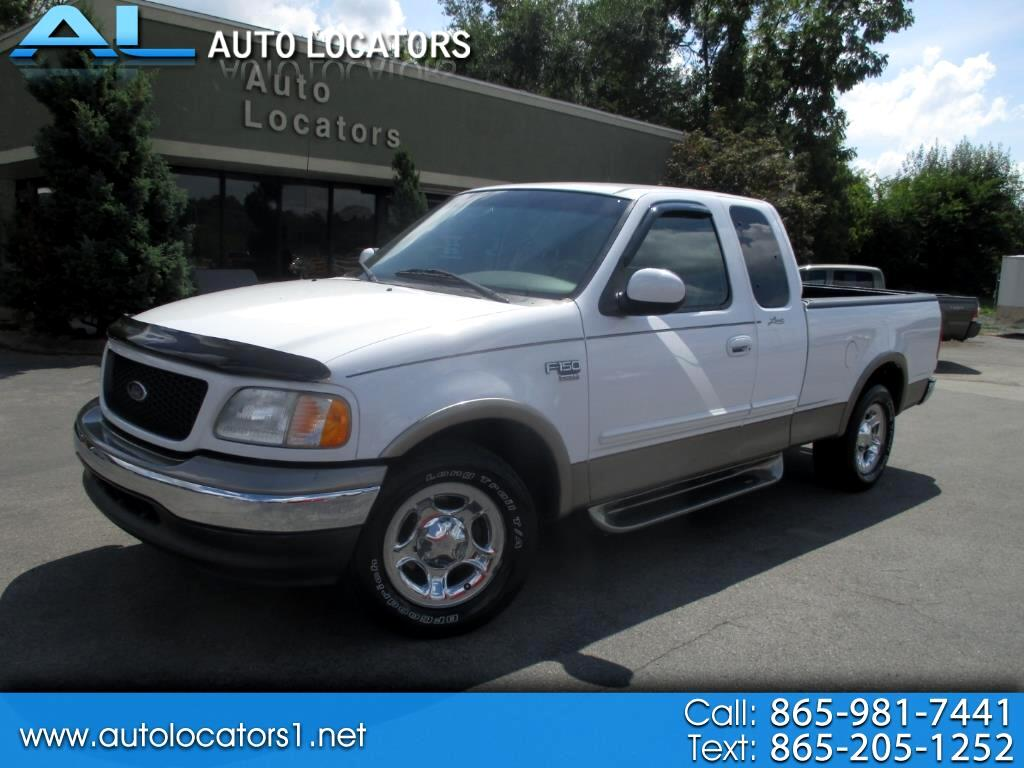 "2002 Ford F-150 Supercab 139"" Lariat"