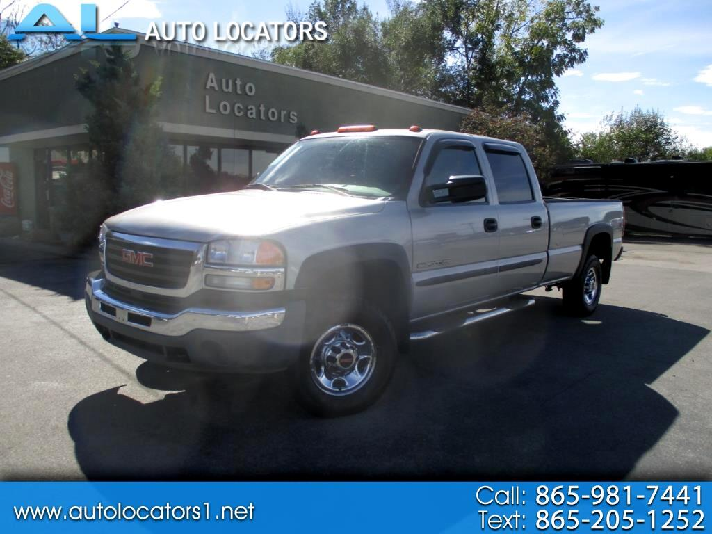 2006 GMC Sierra 2500HD Crew Cab Long Bed 4WD SLT