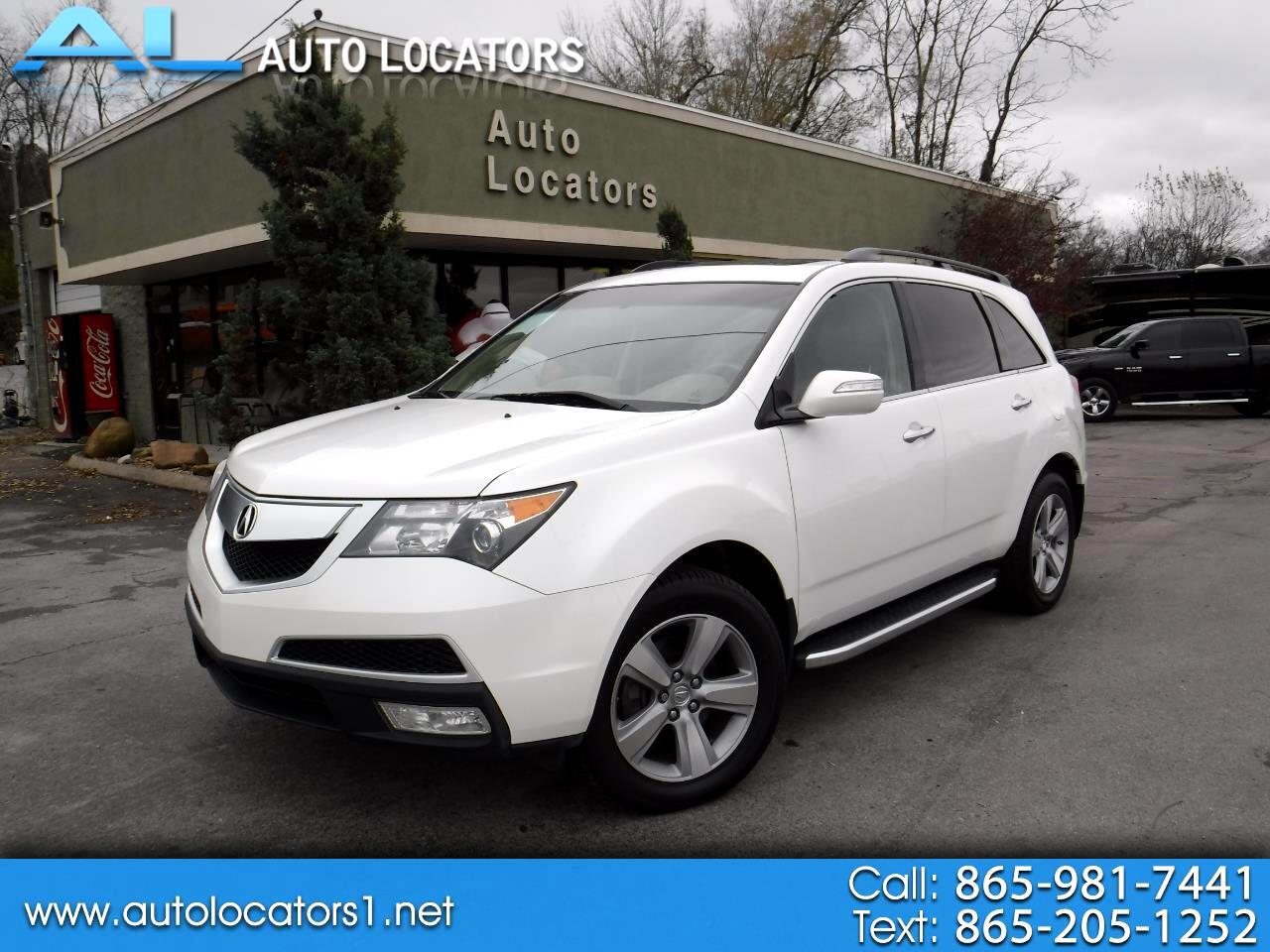 2011 Acura MDX 9-Spd AT SH-AWD w/Advance and Entertainment