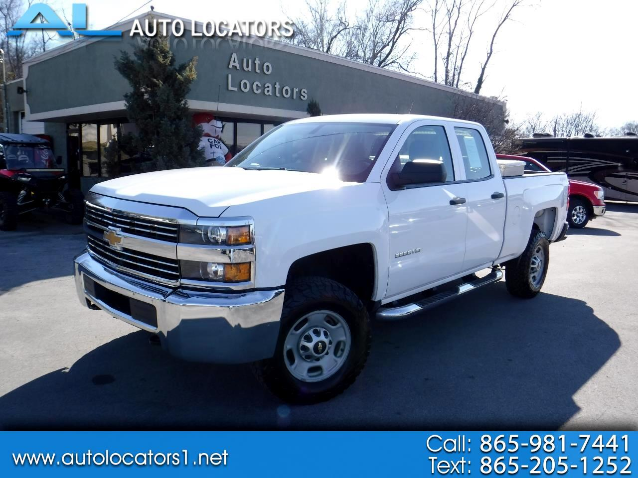"2015 Chevrolet Silverado 2500HD 4WD Double Cab 144.2"" Work Truck"