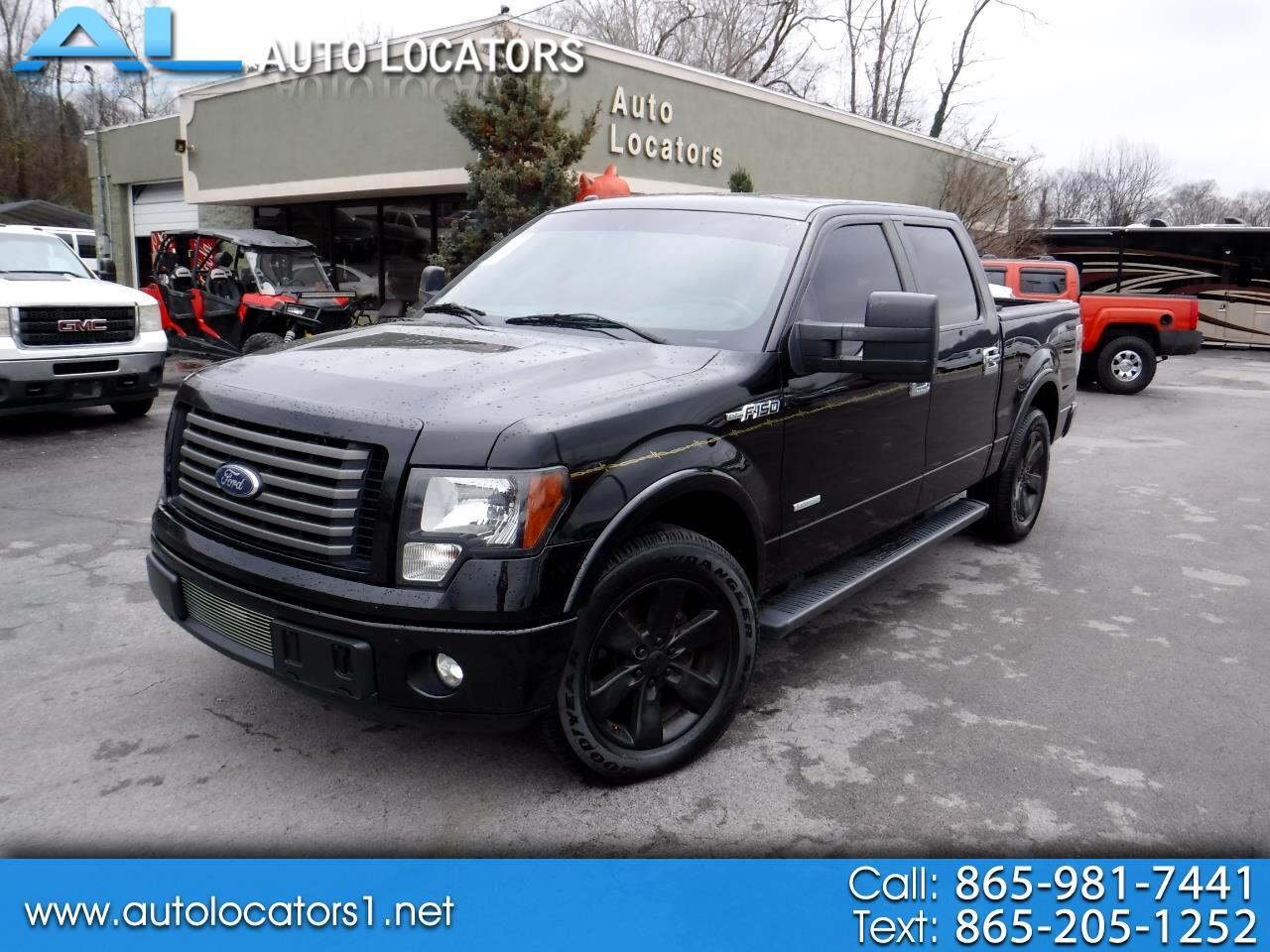 "2011 Ford F-150 2WD SuperCrew 145"" XLT"