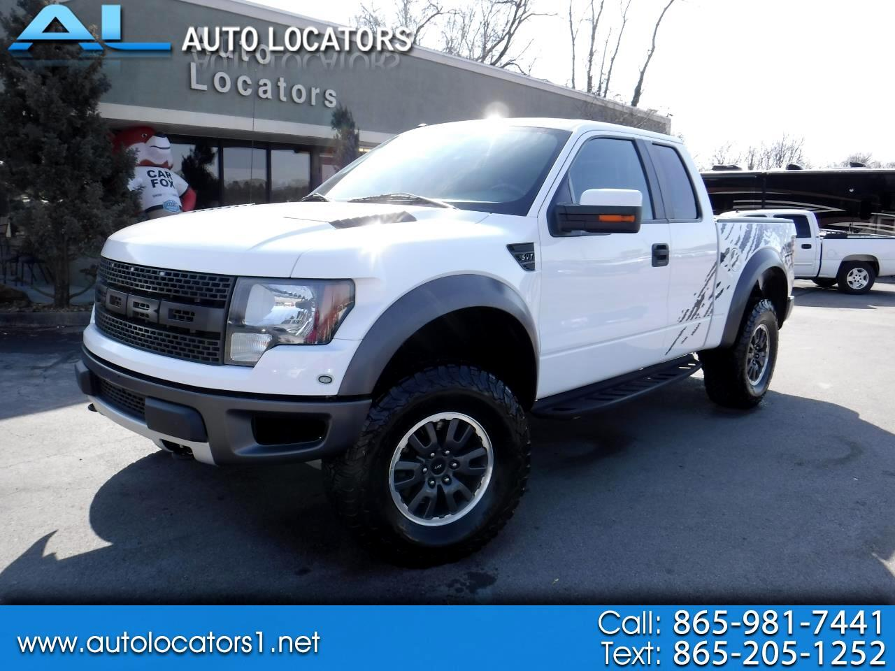 "2010 Ford F-150 4WD SuperCab 133"" SVT Raptor"