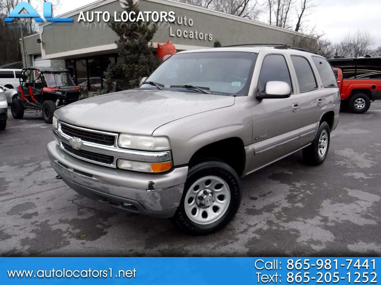2000 Chevrolet Tahoe 4dr 4WD LT