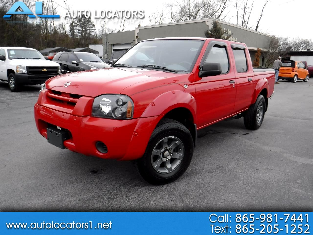 2004 Nissan Frontier XE Crew Cab V6 Auto Std Bed