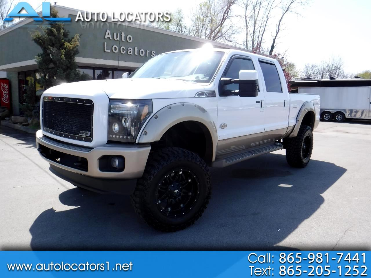 2013 Ford Super Duty F-350 SRW Lariat Crew Cab 4x4 King Ranch
