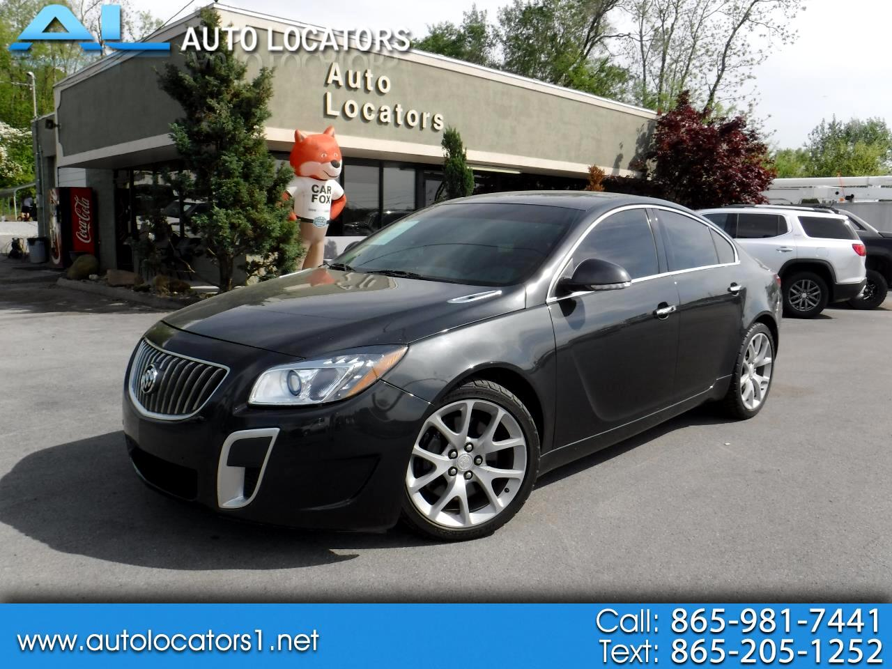 2012 Buick Regal 4dr Sdn GS