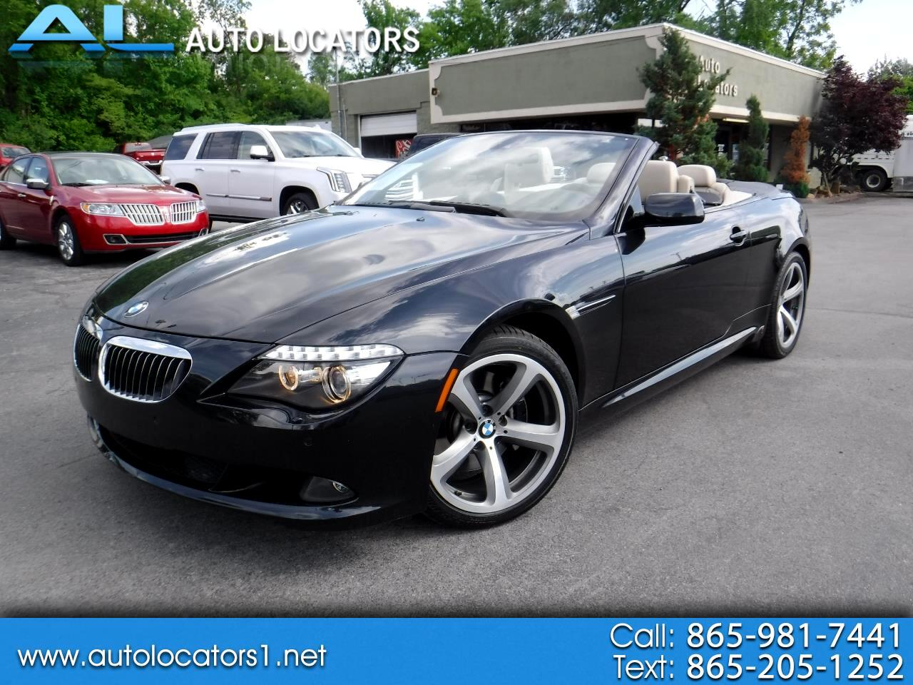 BMW 6 Series 2dr Conv 650i 2009