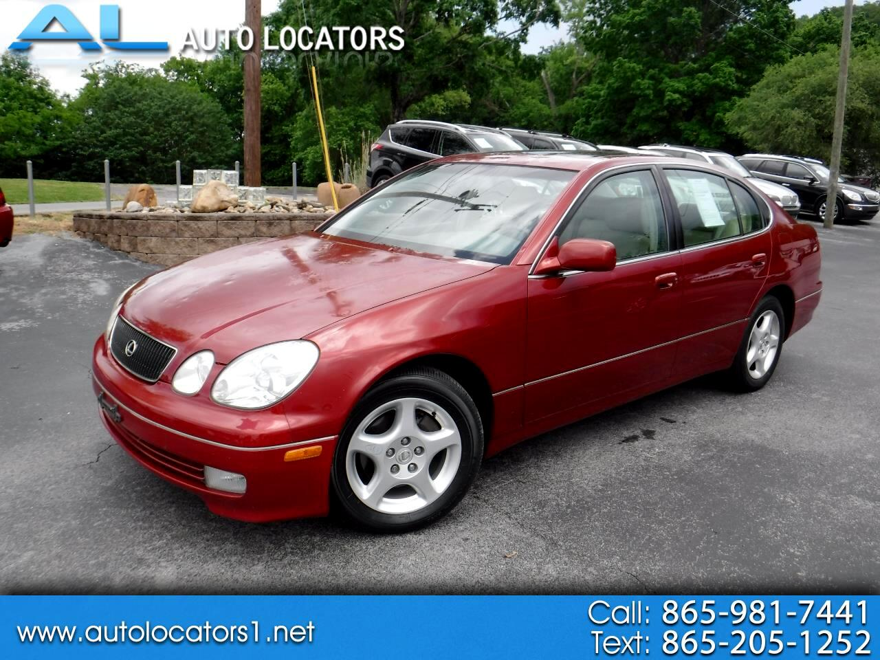 1999 Lexus GS 300 Luxury Perform Sdn 4dr Sdn