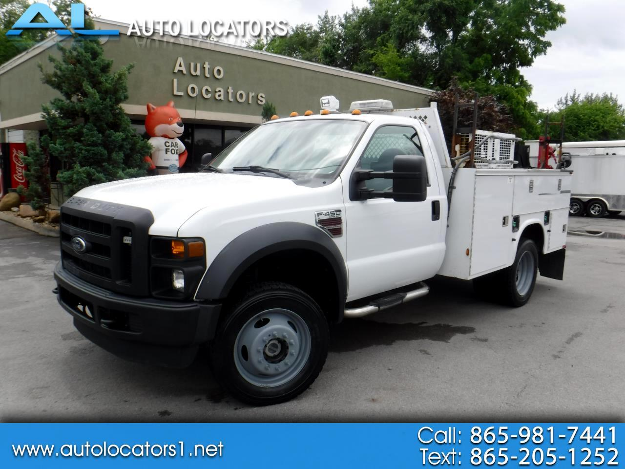 2010 Ford Super Duty F-450 DRW REG CAB 4X4 XL