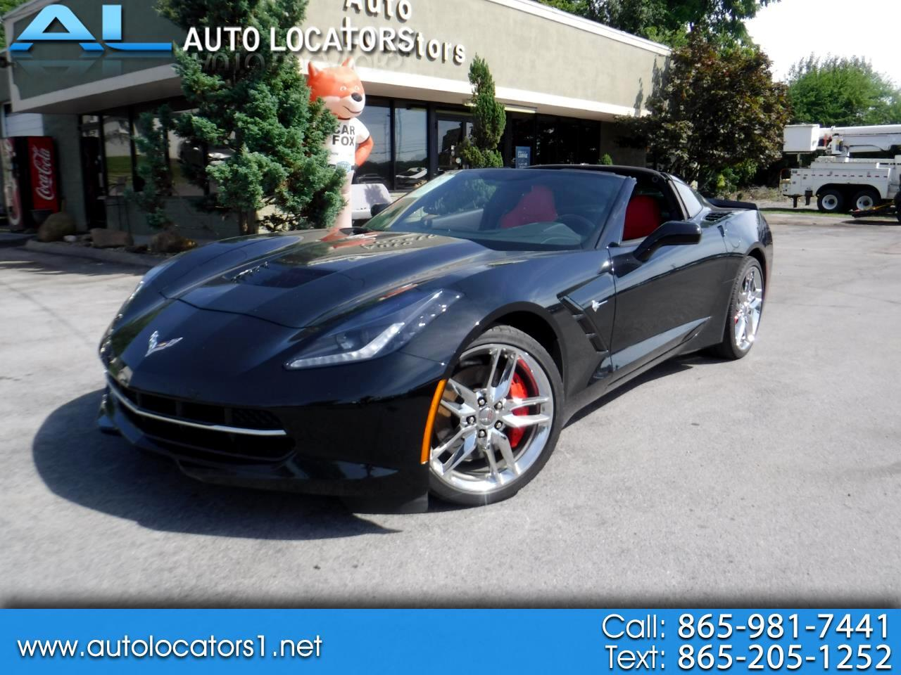 2014 Chevrolet Corvette Stingray 2dr Z51 Cpe w/1LT
