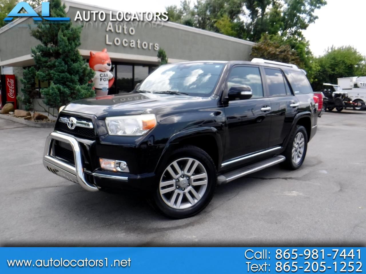 Toyota 4Runner 4WD 4dr V6 Limited (Natl) 2010