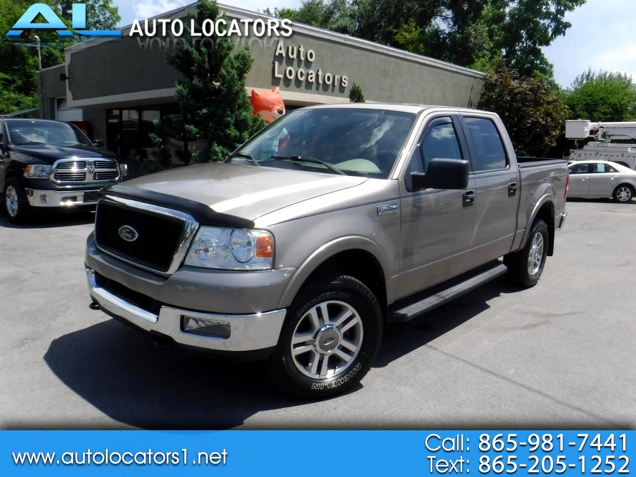 2005 Ford F-150 SuperCrew Lariat 4WD