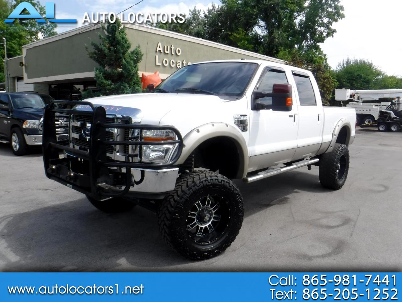 2008 Ford Super Duty F-250 SRW 4WD Crew Cab 172