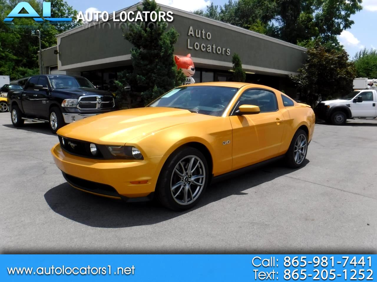 2011 Ford Mustang 2dr Cpe GT