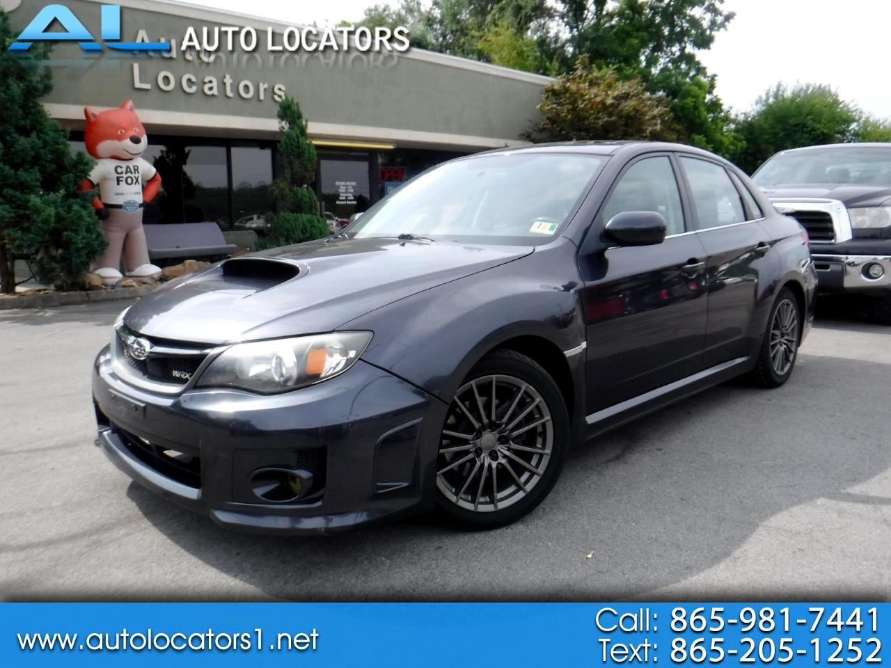 2011 Subaru Impreza Sedan WRX 4dr Man WRX Limited