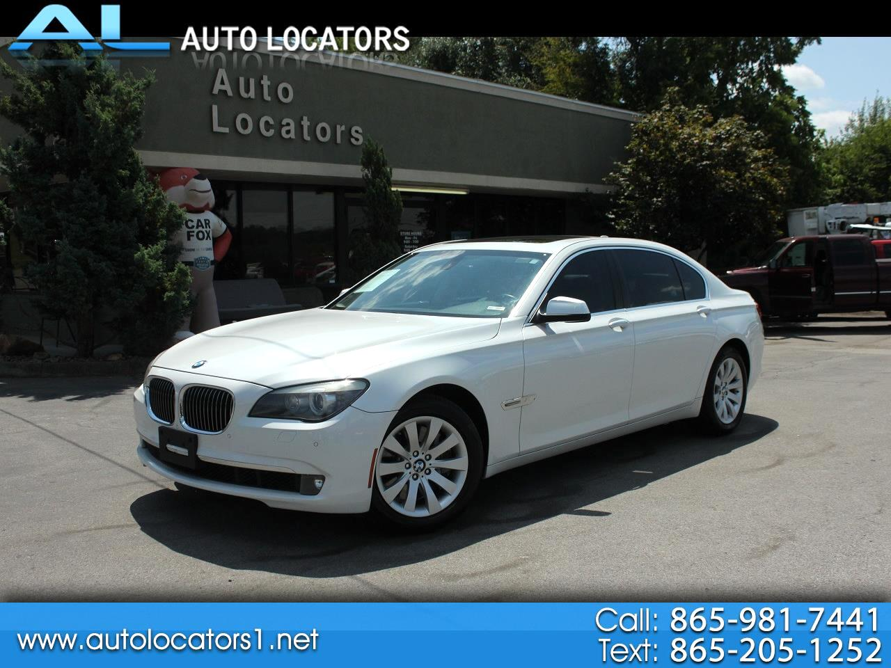 2011 BMW 7 Series 750Li 4dr Sdn