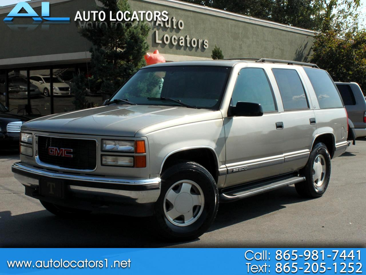 1999 GMC Yukon 4dr 4WD