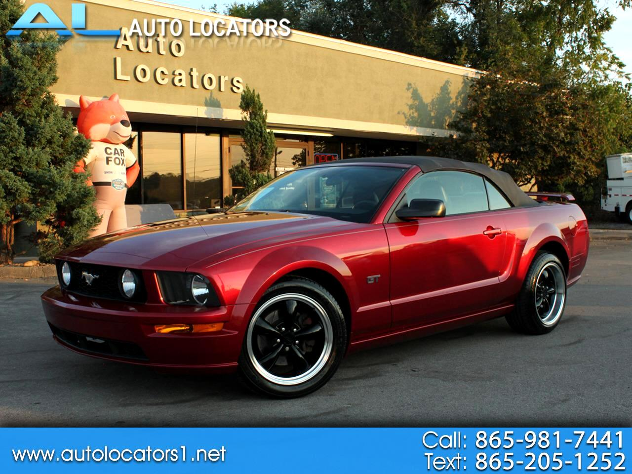 Ford Mustang 2dr Conv GT Deluxe 2007